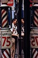 Saul Leiter Color Photograph, Haircut