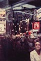Saul Leiter Color Photograph, Times Square at Night