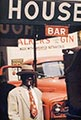 Saul Leiter Color Photograph, Harlem 1960
