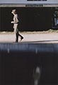 Saul Leiter Color Photograph, Man Walking