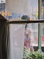 Saul Leiter Color Photograph, Woman Through Window, 2004